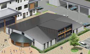 宇治田原町保健センター・ 地域子育て支援センター棟